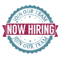 Now Hiring - Join our team
