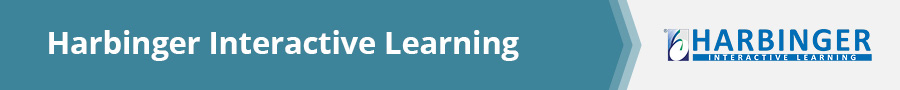 For AI-powered e-learning, Harbinger Interactive Learning is a great e-learning content development partner.