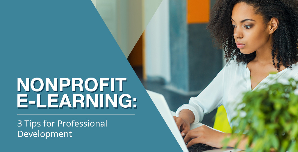Explore how you can use e-learning in your nonprofit's professional development efforts.