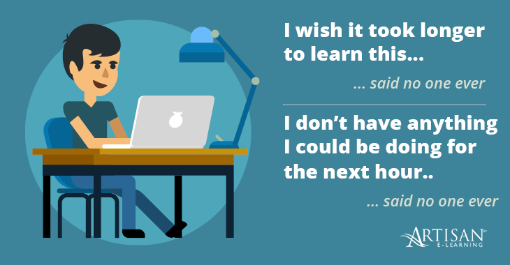 Think of the reasons why learners desire microlearning courses.