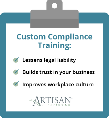 This is the importance of custom compliance training.