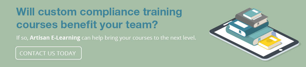 Contact us to begin the process of creating custom compliance training.