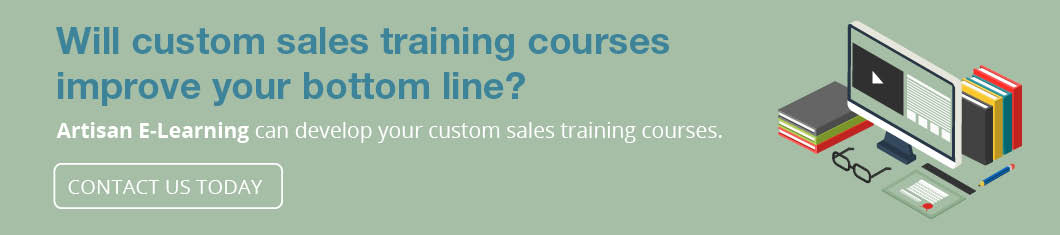 Contact us today to begin the process of creating custom sales training.